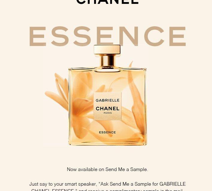 Free Gabrielle Chanel Essence Sample