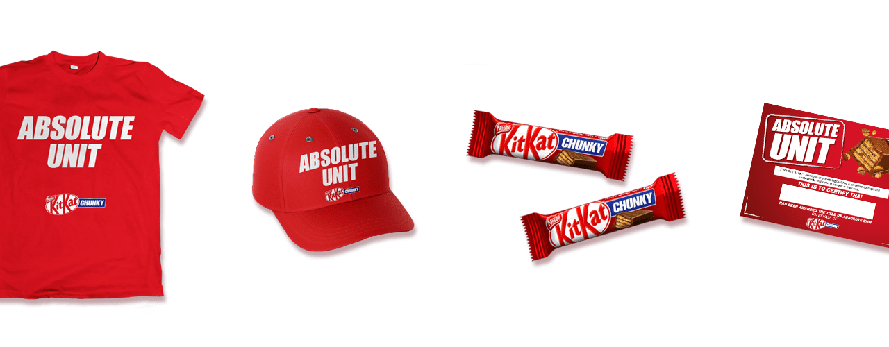 Free KitKat Chunky Products