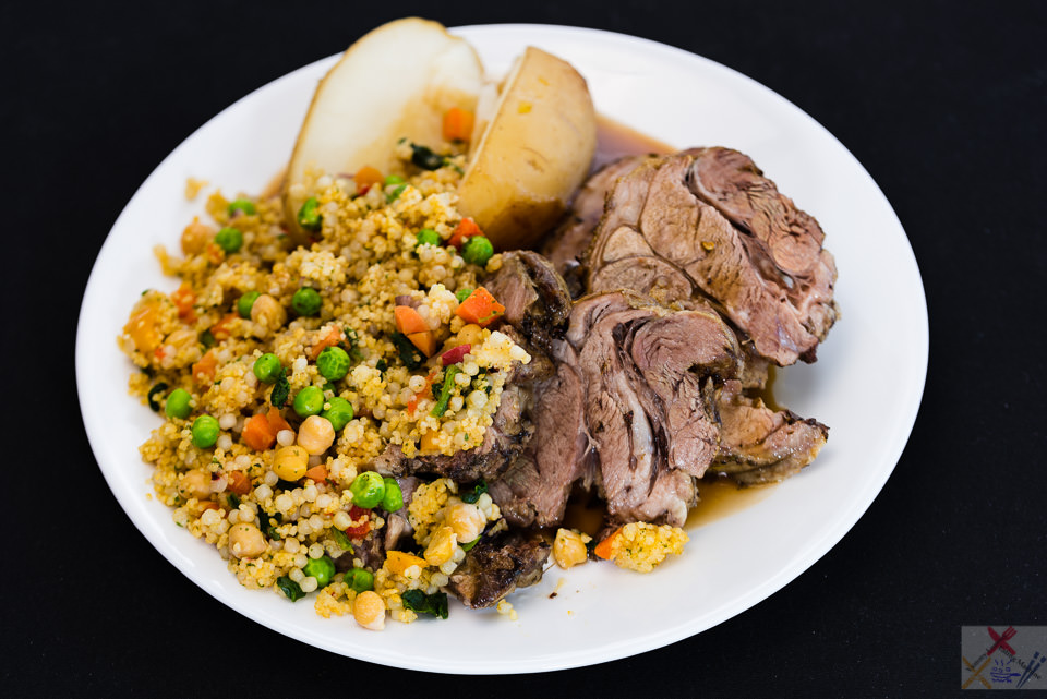 Australia day 🇦🇺🌏 Roast lamb shoulder with potato, pearl barley couscous and gravy Australia Day 2017 Gary Lum