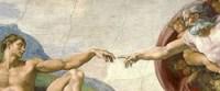 God and Adam width=