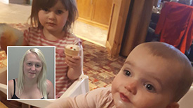 Mother jailed for killing two daughters
