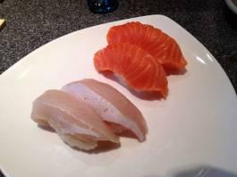 Hamachi (Yellowtail) Belly & Sake (Salmon)