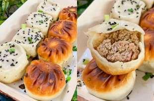 【台北美食】中山區「老上海生煎」先喝湯汁再吃煎包!底脆皮薄、肉餡飽滿,超地道生煎包