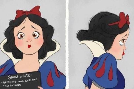「在童話中,迪士尼公主都犯了什麼罪?」灰姑娘在現實生活一定會被抓去關… – 動畫的故事