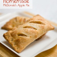 Homemade McDonald's Apple Pie