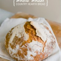 Whole Wheat Country Hearth Bread