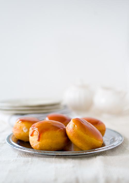 Crème Brûlée Doughnuts
