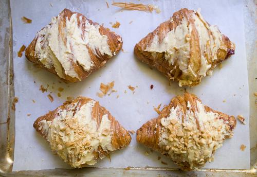 Peanut Butter & Jelly Croissants