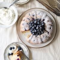 Concord Grape Whipped Cream Cake