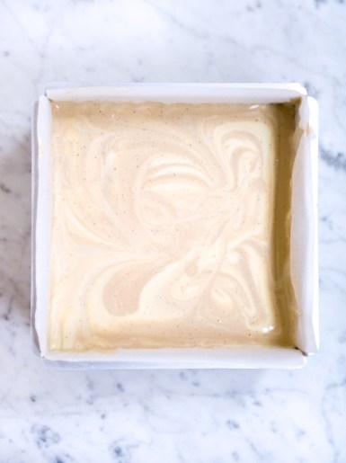 Tahini Coffee Cheesecake