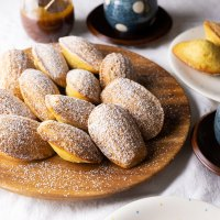 Spiced Madeleines with Salted Caramel Sauce & French Appetizers Giveaway