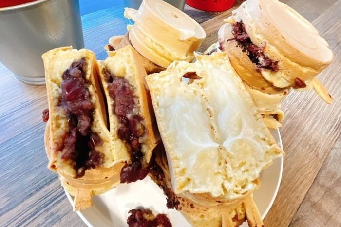 台北車站銅板美食「2個10元紅豆餅」老爺爺手工製作的古早味小吃~台北車站必吃!
