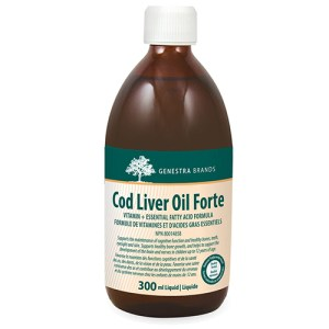 Yum Naturals Emporium - Bringing the Wisdom of Nature to Life - Genestra Cod Liver Oil Forte Liquid