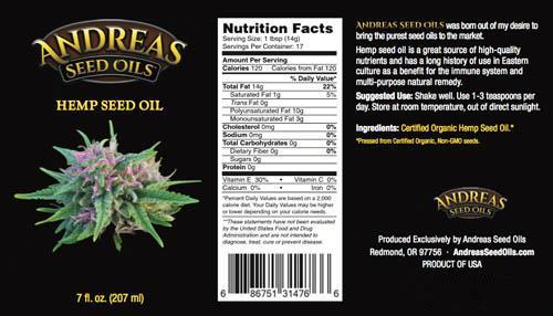 Yummy Mummy Emporium & Apothecary - Hemp Seed Oil