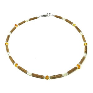 YumNaturals Emporium - Bringing the Wisdom of Mother Nature to Life - Hazelwood Amber Freshwater Pearls Main