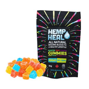 Yum Naturals Emporium - Bringing the Wisdom of Nature to Life - HH Gummies 300mg