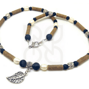 YumNaturals Emporium and Apothecary- Bringing the Wisdom of Mother Nature to Life - Hazel wood diffuser hazelwood necklace with lava beads and freshwater pearls