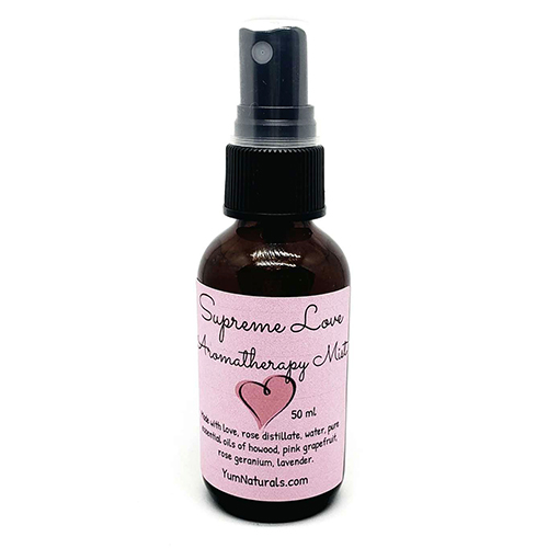 Yum Naturals Emporium - Bringing the Wisdom of Nature to Life - Supreme Love Aromatherapy Mist