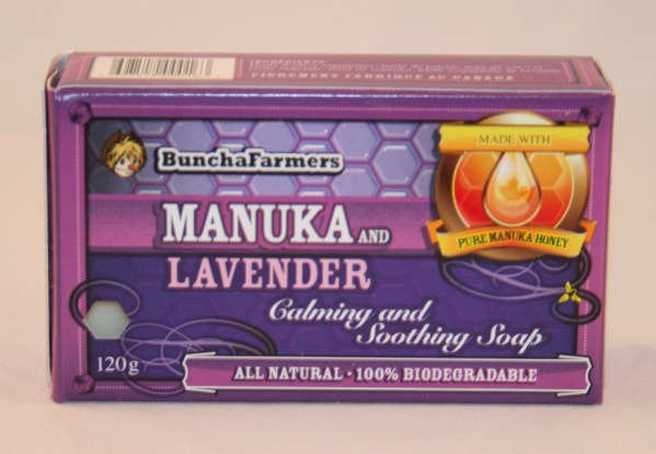 YumNaturals Emporium - Bringing the Wisdom of Nature to Life- BunchaFarmers Manuka Lavender Natural Soap
