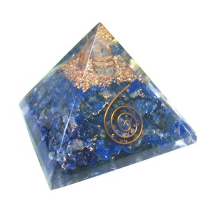 YumNaturals Emporium - Bringing the Wisdom of Nature to Life - Lapis Lazuli Orgone Pyramid