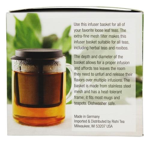 YumNaturals Emporium - Bringing the Wisdom of Nature to Life - Rishi Loose Tea Infuser Basket