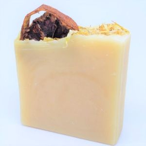 YumNaturals-Emporium-Bringing the Wisdom of Healing to Life-Tangerine-Calendula-Soap