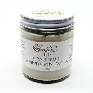 Yum Naturals Emporium - Bringing the Wisdom of Nature to Life - Pink Grapefruit Body Butter