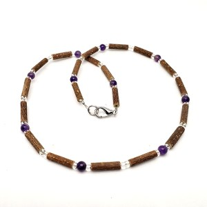 YumNaturals Emporium - Bringing the Wisdom of Mother Nature to Life - Hazelwood Amethyst Necklace 1