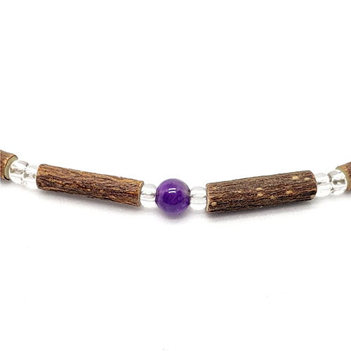 YumNaturals Emporium - Bringing the Wisdom of Mother Nature to Life - Hazelwood Amethyst Necklace 2