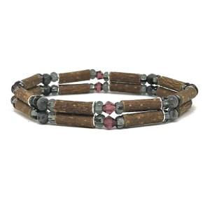 YumNaturals Emporium - Bringing the Wisdom of Mother Nature to Life - Hazelwood Labradorite Double Bracelet 1