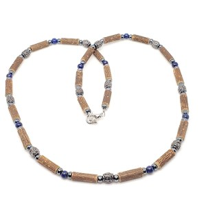 YumNaturals Emporium - Bringing the Wisdom of Mother Nature to Life - Hazelwood Lapis-Lazuli Necklace Medieval Style 1
