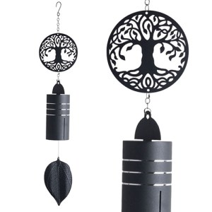 Yum Naturals Emporium - Bringing the Wisdom of Nature to Life - Metal Wind Bell Tree Of Life