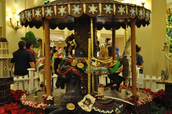 Chocolate Carousel in the Beach Club Lobby