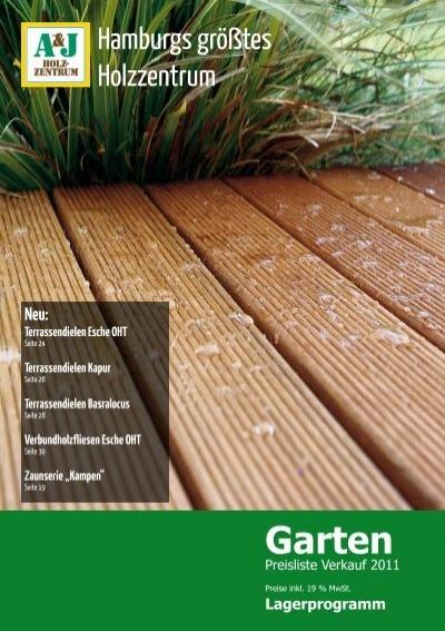 Garten - A&J Holzzentrum