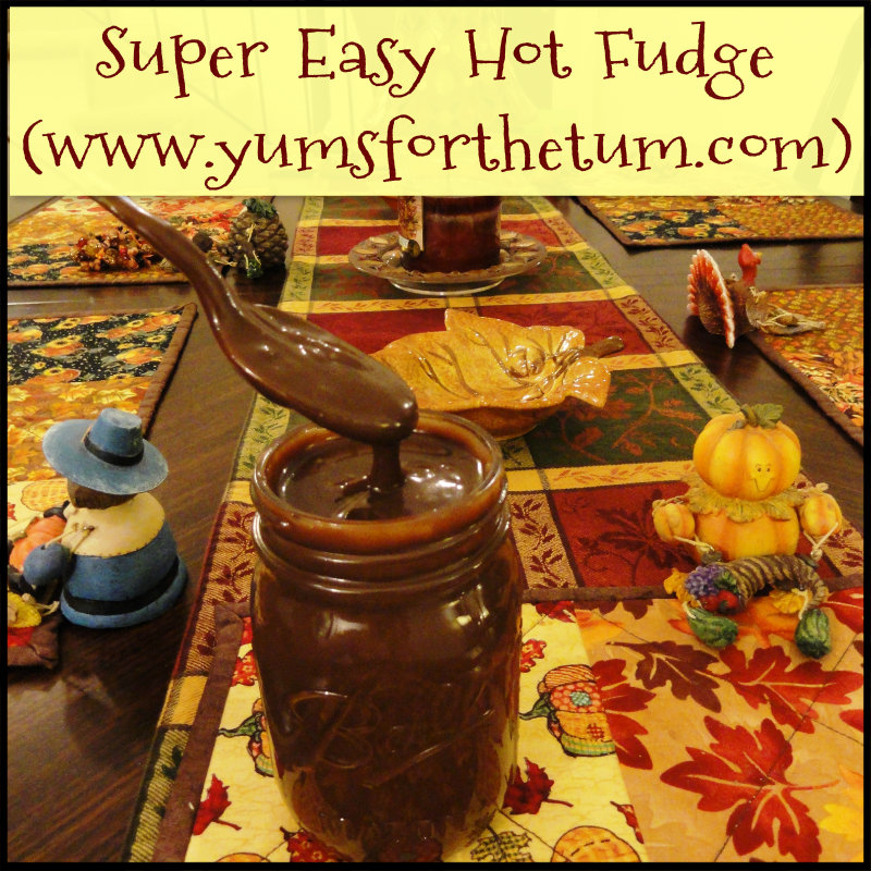 Super Easy Hot Fudge
