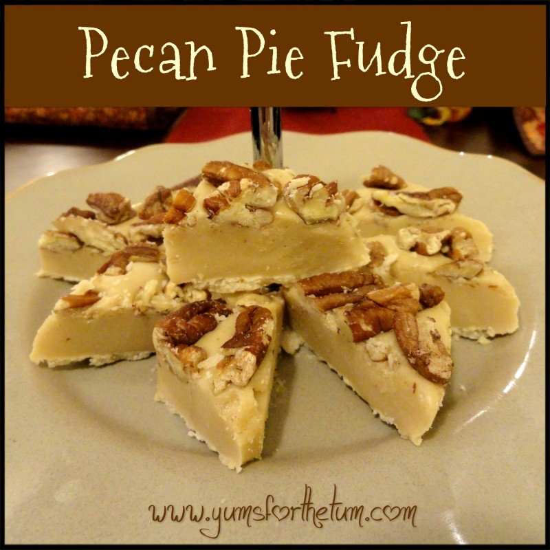 pecan pie fudge6
