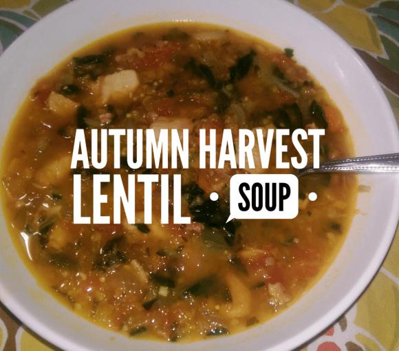 Autumn Harvest Lentil Soup