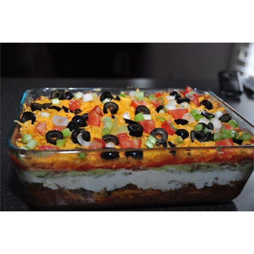 Taco Dip Sour Cream Ground Beef Recipes