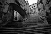 Pujada de Sant Domenec - Girona -