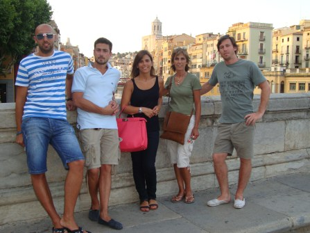 Girona-Visita Argentina