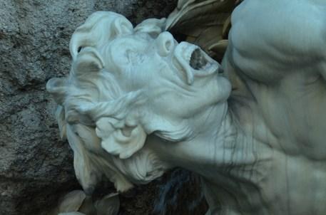 Estatuas que parecen cobrar vida.Viena