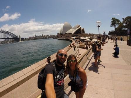 Sydney con Pere!