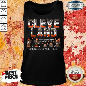 AngryCleveland Browns Americas New Team 5 Tank Top