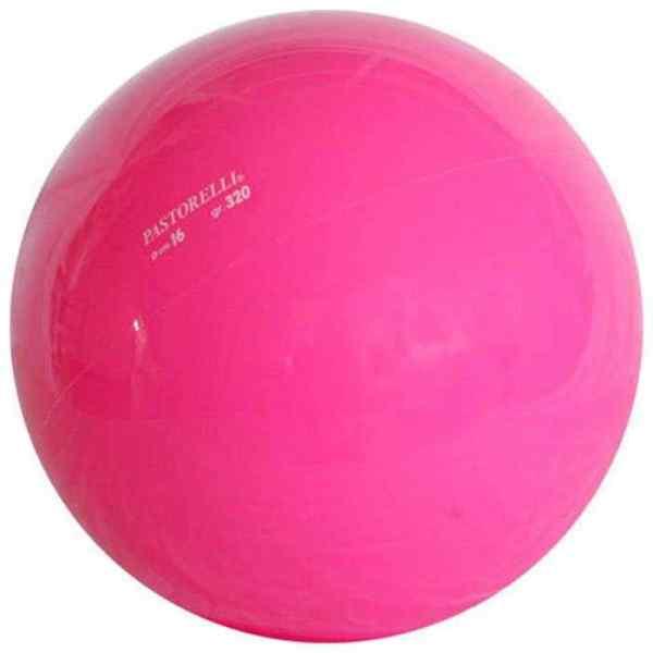 мяч 16 см розовый недорого