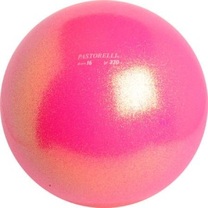 мяч 16 см с блестками