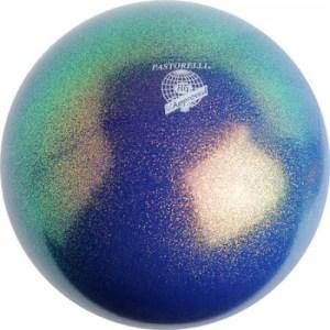 мяч 18 см синий