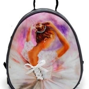 "Рюкзак для танцев мини ""Балерина"" со стразами"