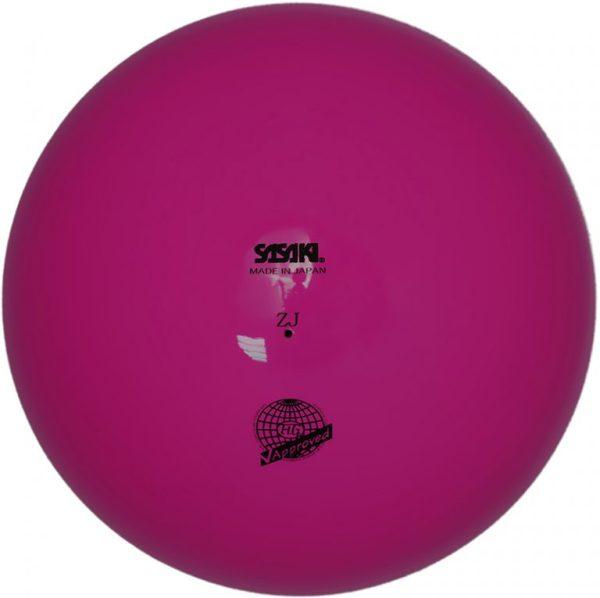 Мяч однотонный Sasaki М-20А 18,5 см - Голубой