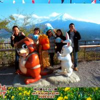 WW; Descrying Mt Fuji