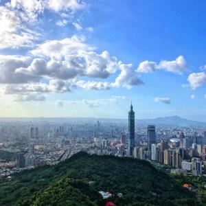 象山からの眺め